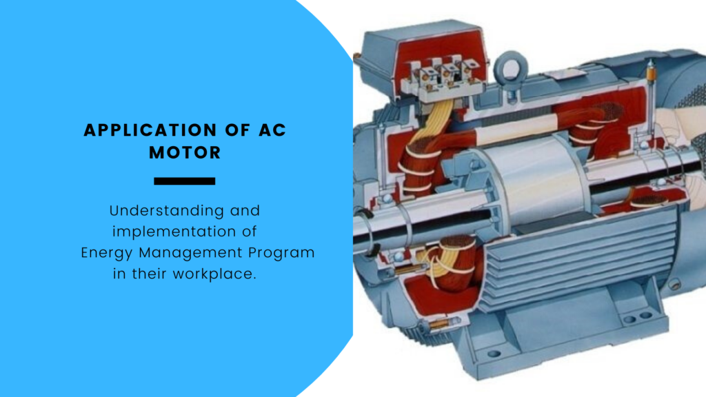Application of AC Motor